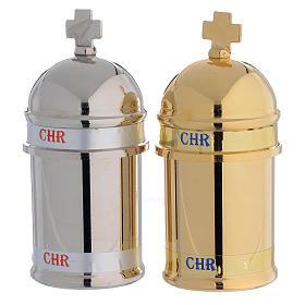 Huiles saintes et sets baptême: Ampoule huile pour Saint Chrême mod. Vintage