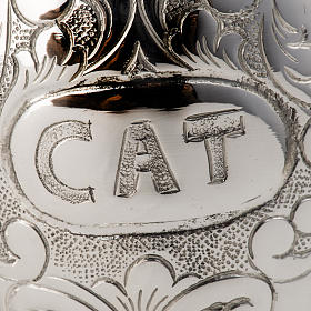 Servizio per oli sacri 18 cm argento 800 s6