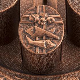 Servizio oli sacri bronzo naturale s2