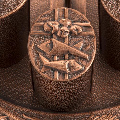 Servizio oli sacri bronzo naturale 2