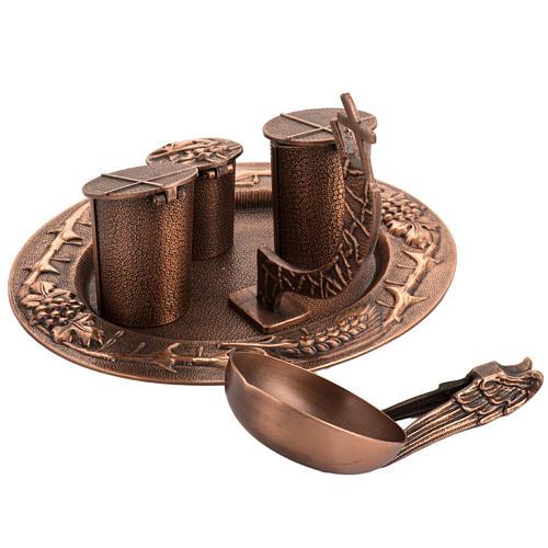 Servizio oli sacri bronzo naturale 7