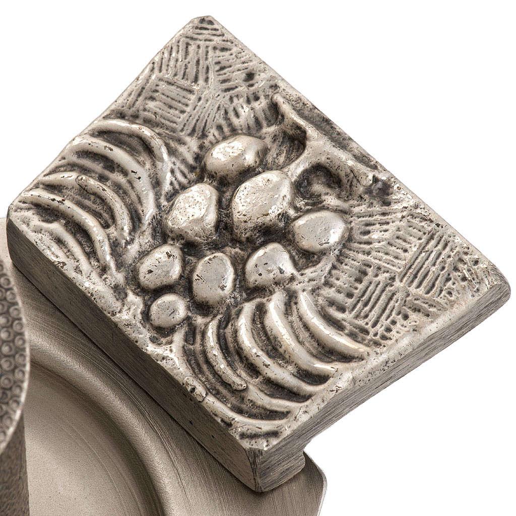 Servizio oli sacri bronzo argentato 3