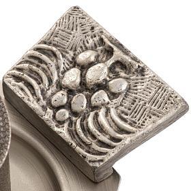 Servizio oli sacri bronzo argentato s3