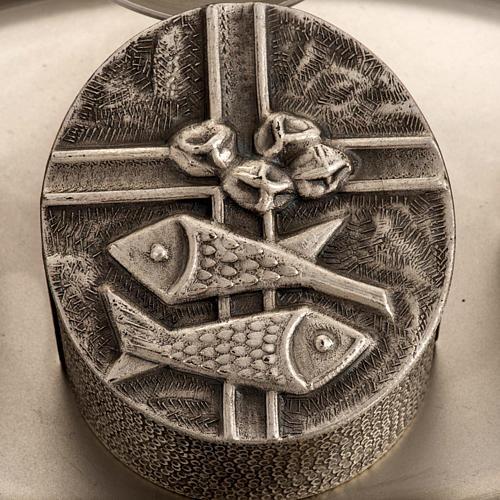 Servizio oli sacri bronzo argentato 2