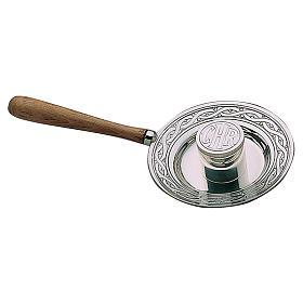 Crismario ottone argentato manico legno Molina s1