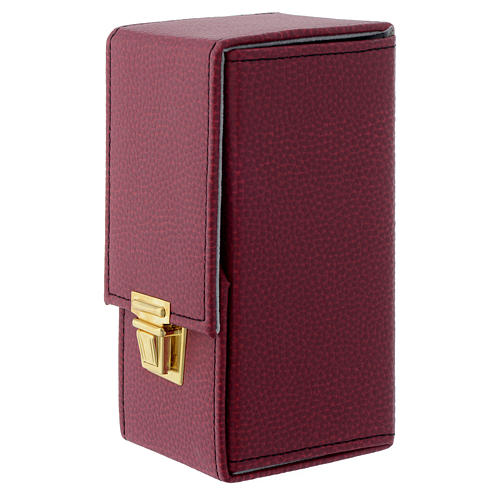Holy oil stock with burgundy case, INF 4
