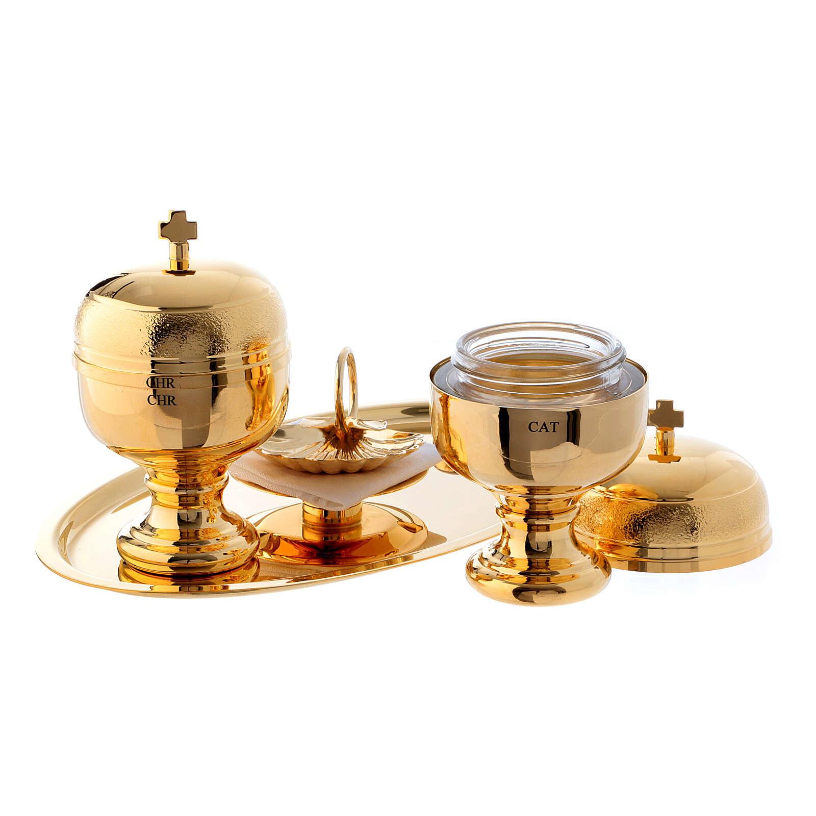 Vergoldetes Taufeset 3
