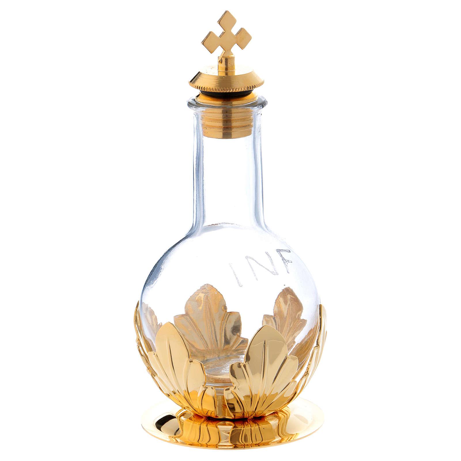 Ampułka na oleje święte z zatyczką zakręcaną 100 cc 3