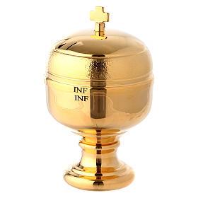 Huiles saintes et sets baptême: Ampoule huiles saintes intérieur en verre 50 ml