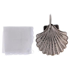Baptismal set with silver-plated magnetic tray s4