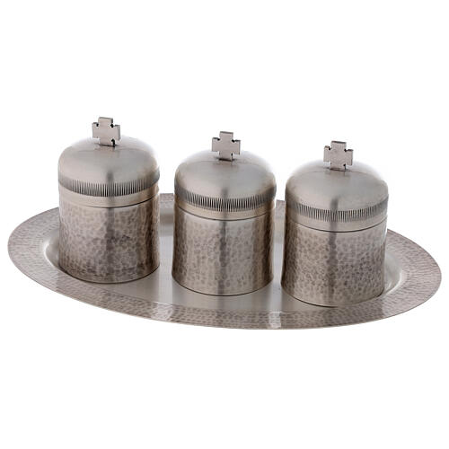 Set tríada óleos santos latón plateado 50 ml 6