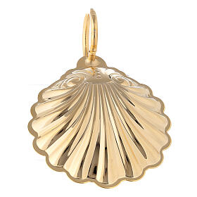 Baptismal shell with 24-karat gold plated finish s3