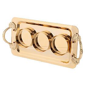 Holy oil set 24-karat gold plated brass s4