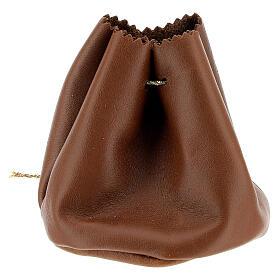 Bolsa para Santos Óleos de verdadero cuero marrón s2