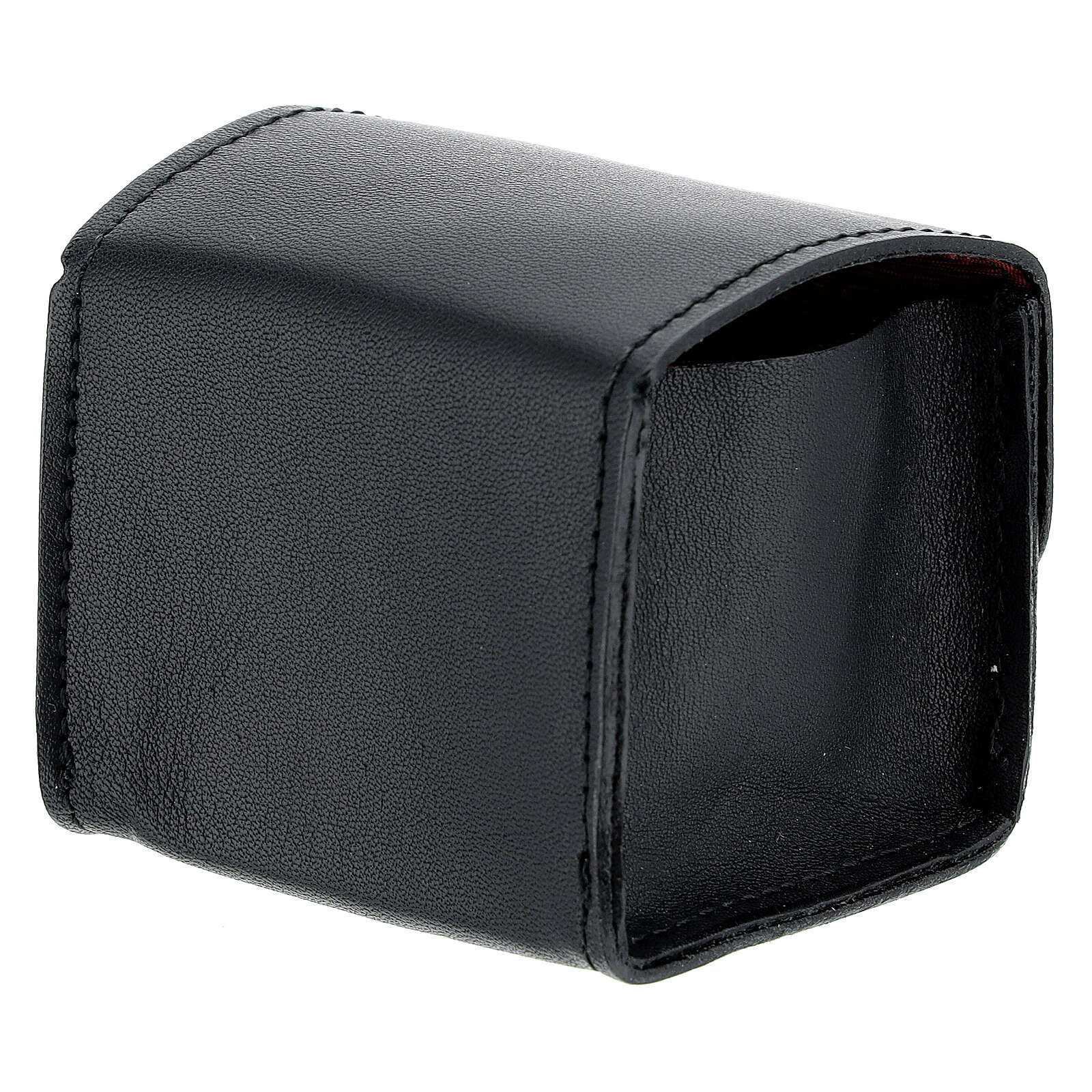 Black leather holy oil case 3