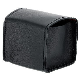 Black leather holy oil case s2