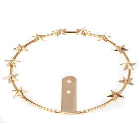 Aro de metal dorado - filigrana s2