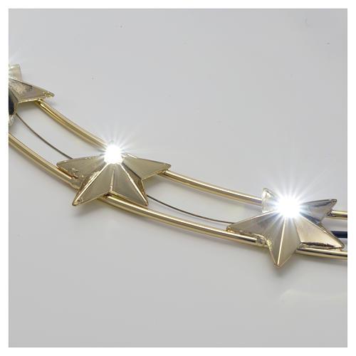 Aureola Estrella con LED en latón 40 cm 2