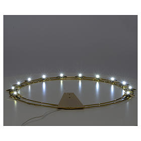 Stellario con LED in ottone 40 cm s3