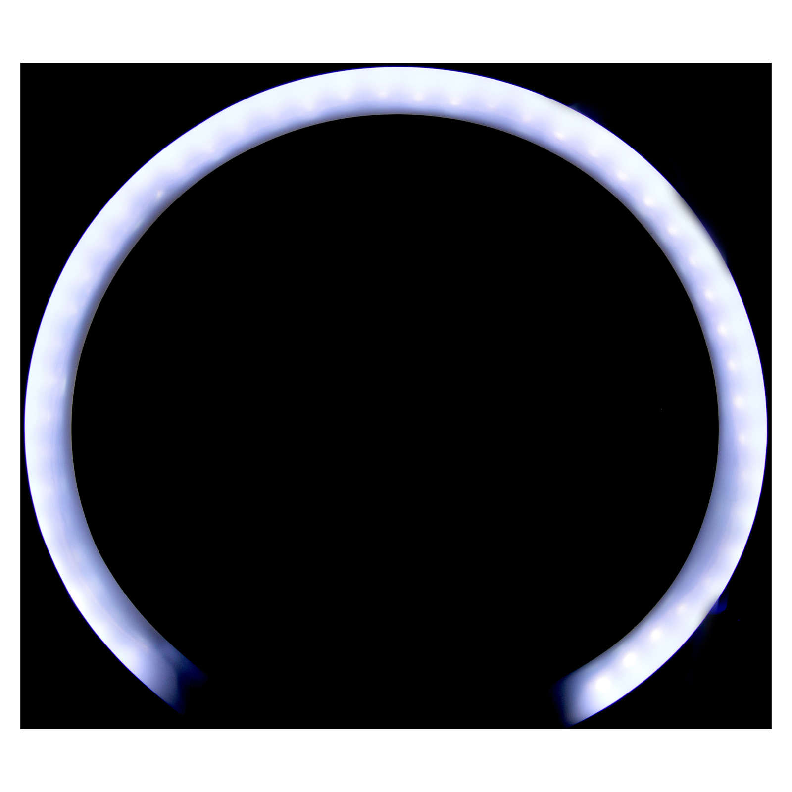 Auréole tubulaire plexiglas 3