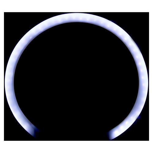 Auréole tubulaire plexiglas 2