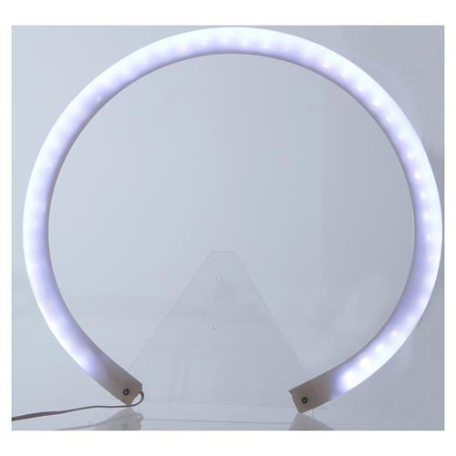 Aureola tubolare plexiglass 1