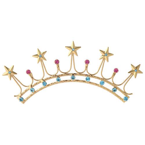 Corona in ottone filigrana oro 1