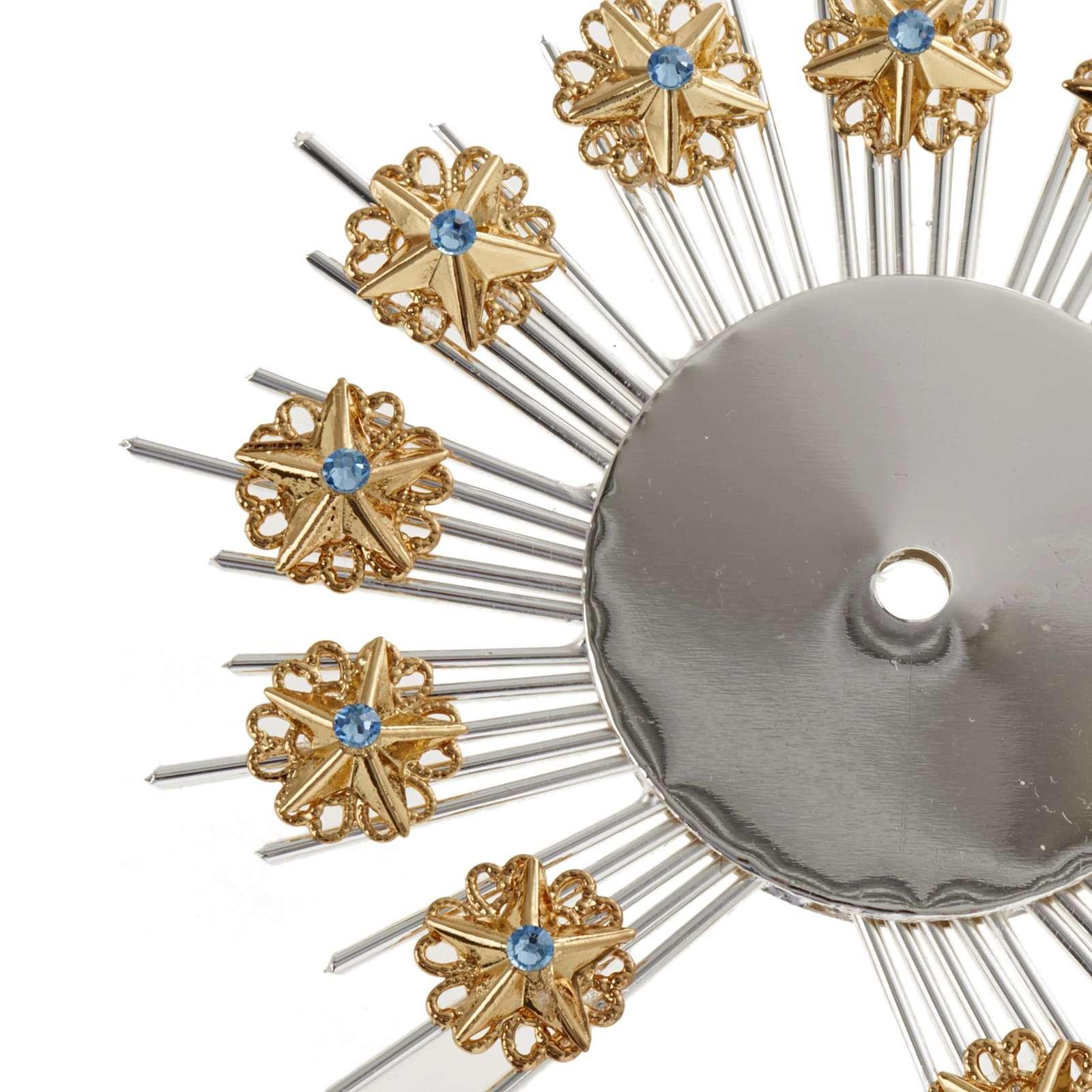 Stellario ottone filigrana oro argento 3