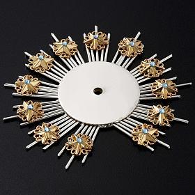 Stellario ottone filigrana oro argento s4