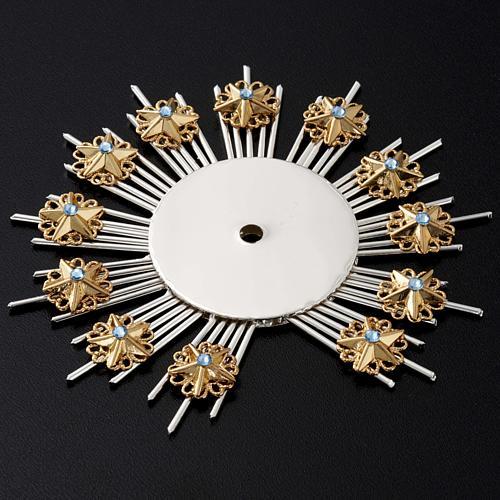 Stellario ottone filigrana oro argento 4