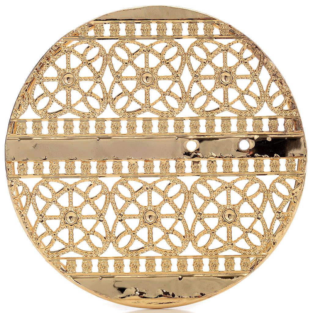 Stellario ottone filigrana dorata e ricami 3