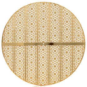 Stellario ottone filigrana dorata e ricami s2