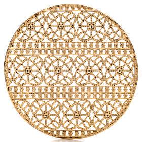 Stellario ottone filigrana dorata e ricami s4