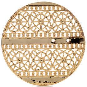 Stellario ottone filigrana dorata e ricami s5