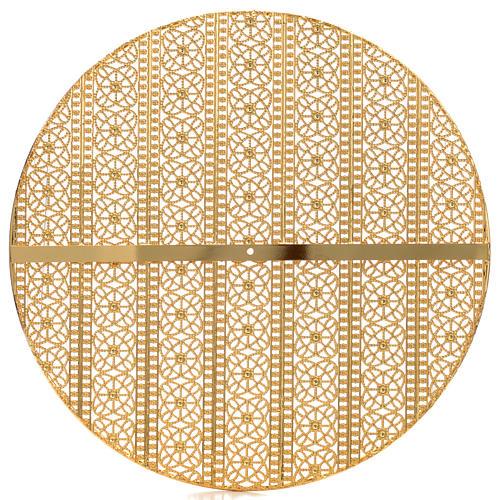 Stellario ottone filigrana dorata e ricami 2