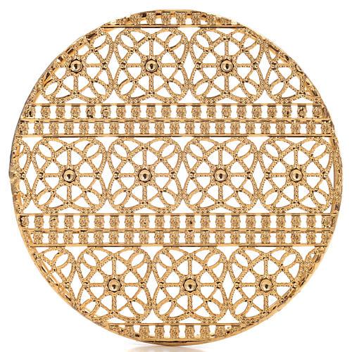 Stellario ottone filigrana dorata e ricami 4
