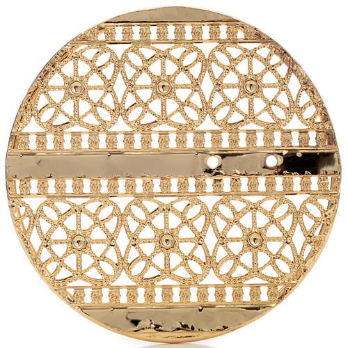 Stellario ottone filigrana dorata e ricami 5