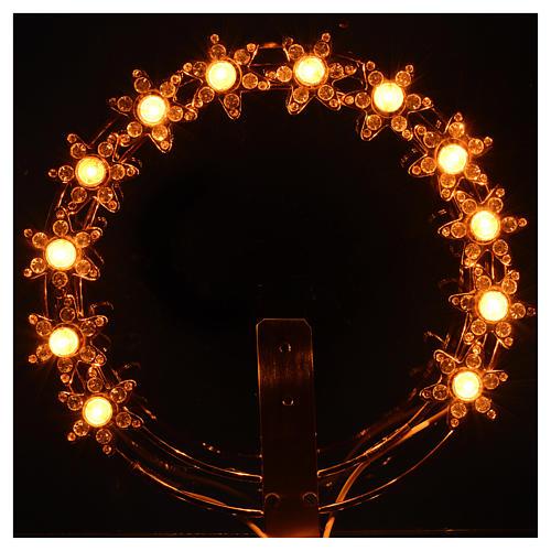 Stellario luminoso Lampadine e strass 2