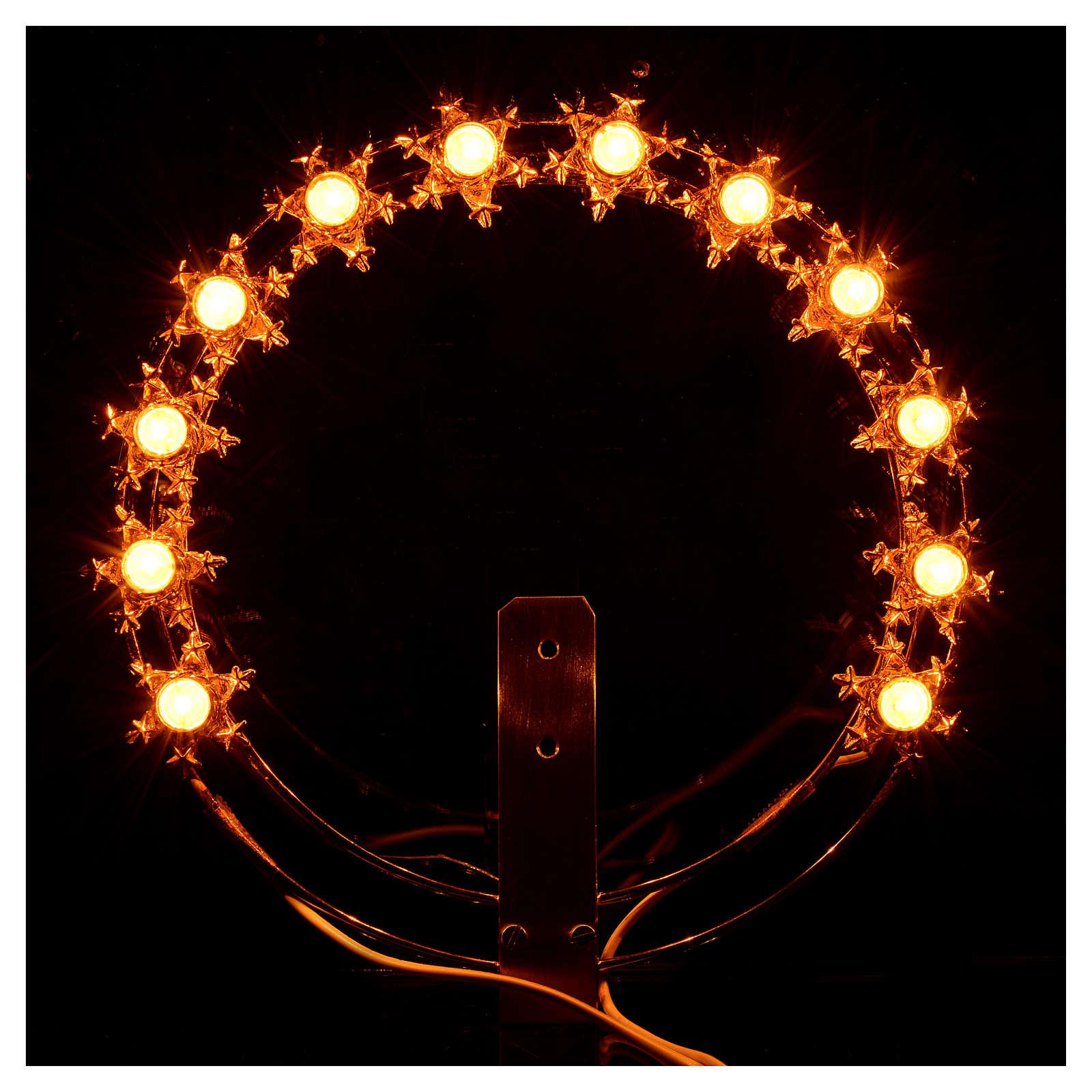 Couronne lumineuse ampoules étoiles 3