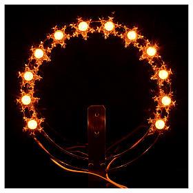 Couronne lumineuse ampoules étoiles s4