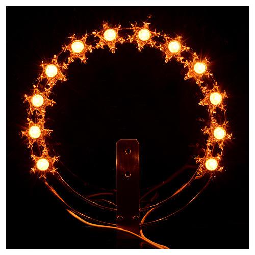 Couronne lumineuse ampoules étoiles 4
