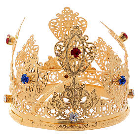 Ducal crown for statues with gems 4 in diameter s3