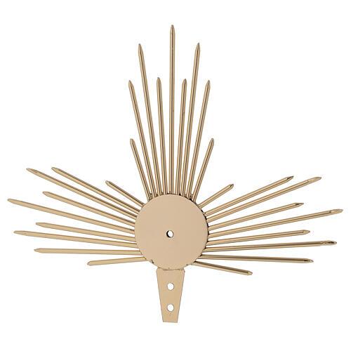 Auréole pour Saint avec rayons lumière 17 cm 1