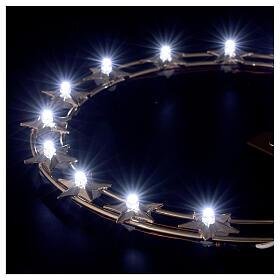 STOCK Stellario led aureola ottone dorato 20 cm s3