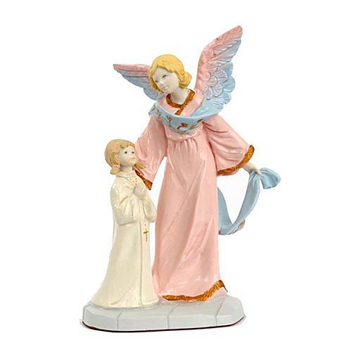 Ange gardien avec petite fille 1