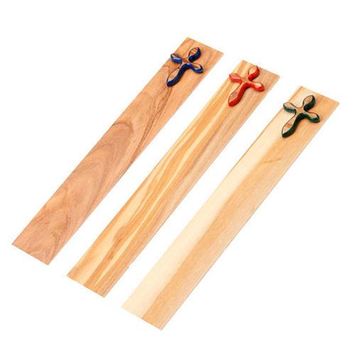 Segnalibro croce colorata 1
