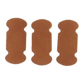 Bookmarks in brown leather 10 pieces for liturgical texts s3