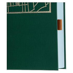 Marque-page adhésif cuir marron 10 pcs pour livres liturgiques s2