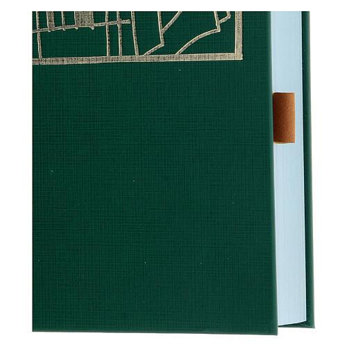 Marque-page adhésif cuir marron 10 pcs pour livres liturgiques 2