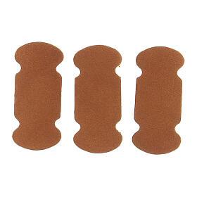 Segnalibri adesivi cuoio marrone 10 pezzi per testi liturgici s3